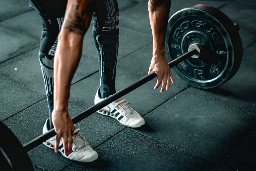 training shoes, weight lifting, gym